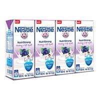 Sữa tiệt trùng Nestle hương Việt quất hộp 180ml (4 hộp)