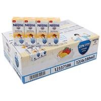 Thùng sữa tiệt trùng Nestle hương Trái cây hộp 180ml (48 hộp)