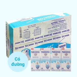 Thùng 48 hộp sữa tiệt trùng có đường Nestlé NutriStrong 180ml