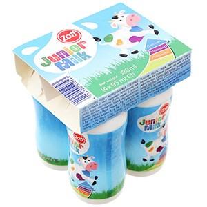 Lốc sữa tươi Zott Junior Milk 95ml (4 hộp)