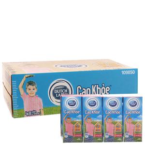 Thùng 48 hộp sữa tiệt trùng Dutch Lady Cao khoẻ hương dâu 170ml