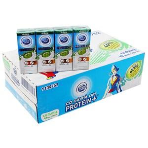 Thùng sữa tiệt trùng Dutch Lady Protein Có đường 180ml (48 hộp)