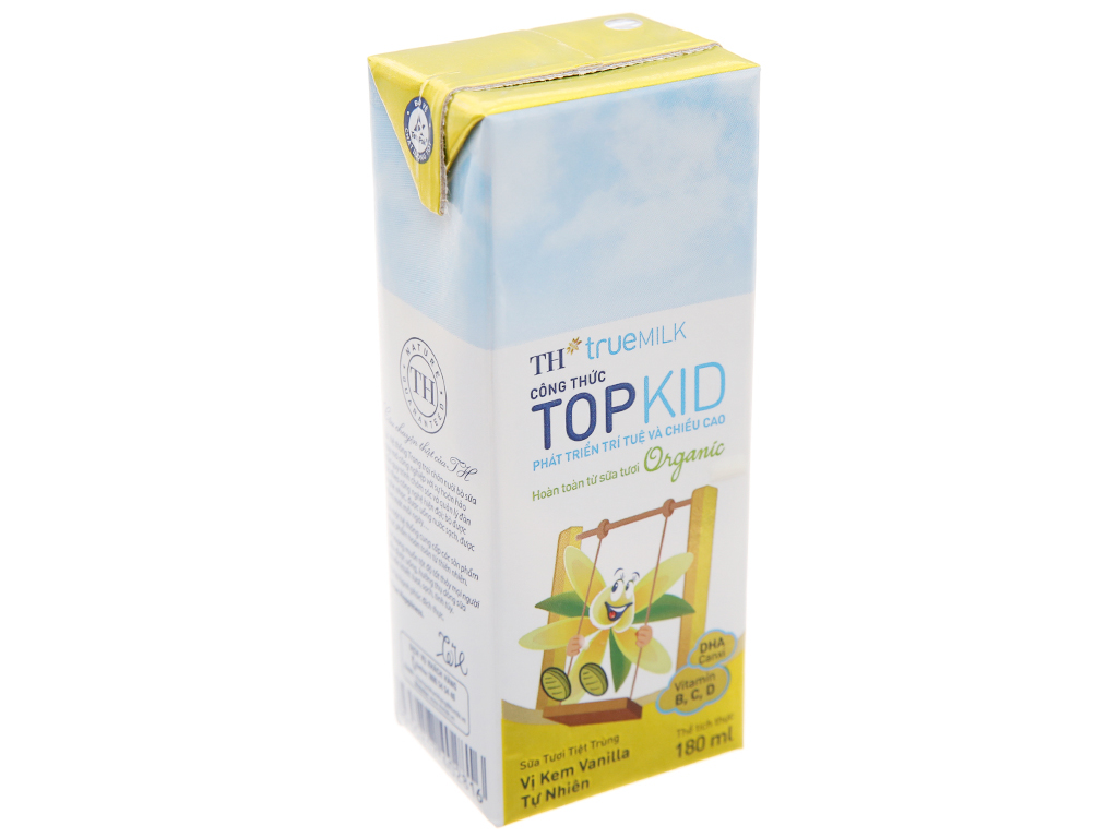 TH true MILK hộp 180ml 2