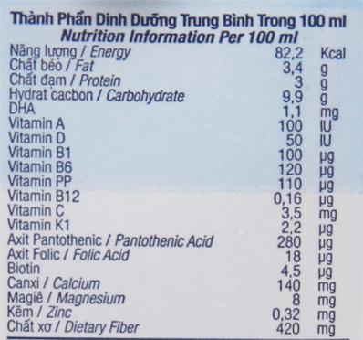 Thùng 48 hộp sữa tươi tiệt trùng kem vanilla tự nhiên TH true MILK Top Kid Organic 180ml 6