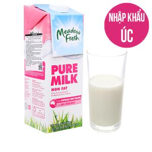 Sữa tươi tiệt trùng Meadow Fresh không béo 1 lít