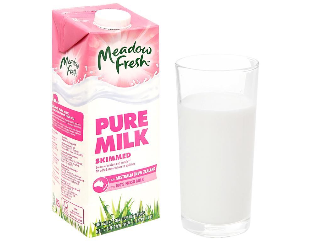 Sữa tươi tiệt trùng Meadow Fresh không béo 1 lít 5