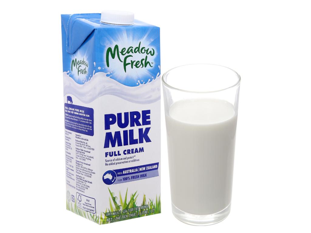 Sữa tươi tiệt trùng nguyên kem Meadow Fresh 1 lít 1
