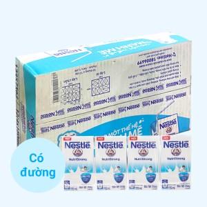 Thùng 48 hộp sữa tiệt trùng có đường Nestlé NutriStrong 115ml