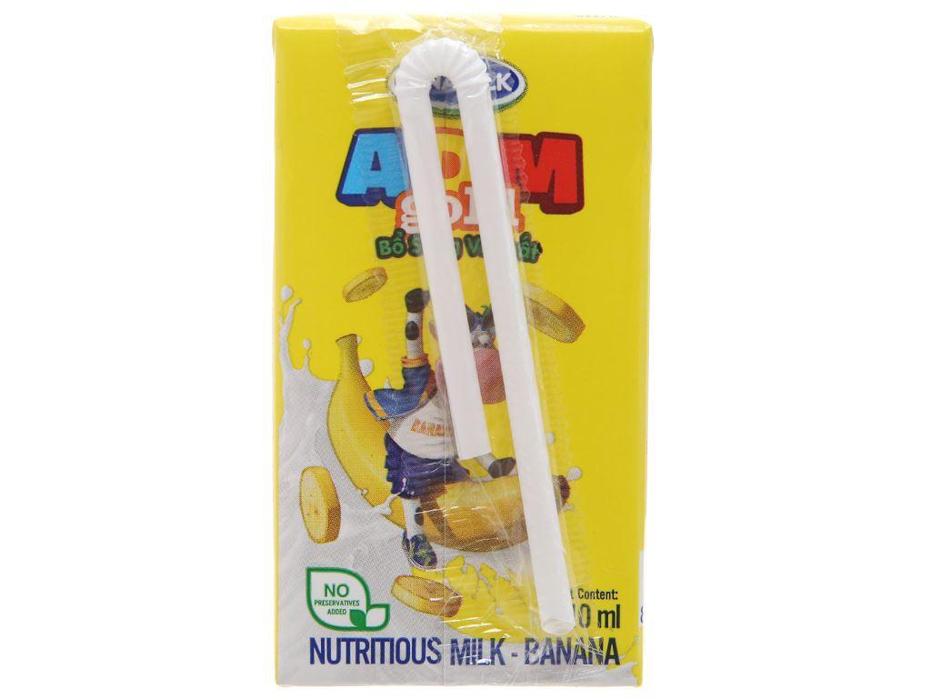 Vinamilk ADM Gold hương chuối hộp 110ml 3