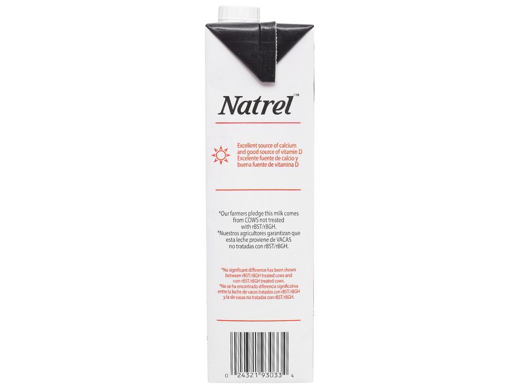 Sữa tươi tiệt trùng Natrel nguyên kem hộp 946ml 9