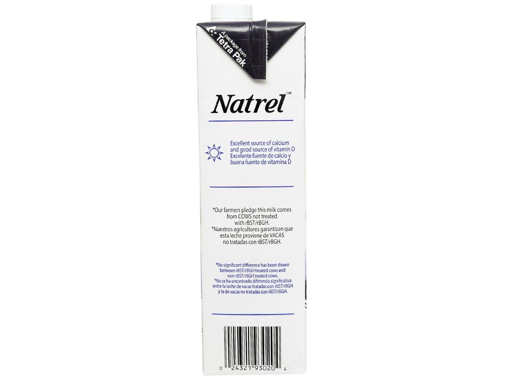Sữa tươi tiệt trùng 2% béo Natrel hộp 946ml 4