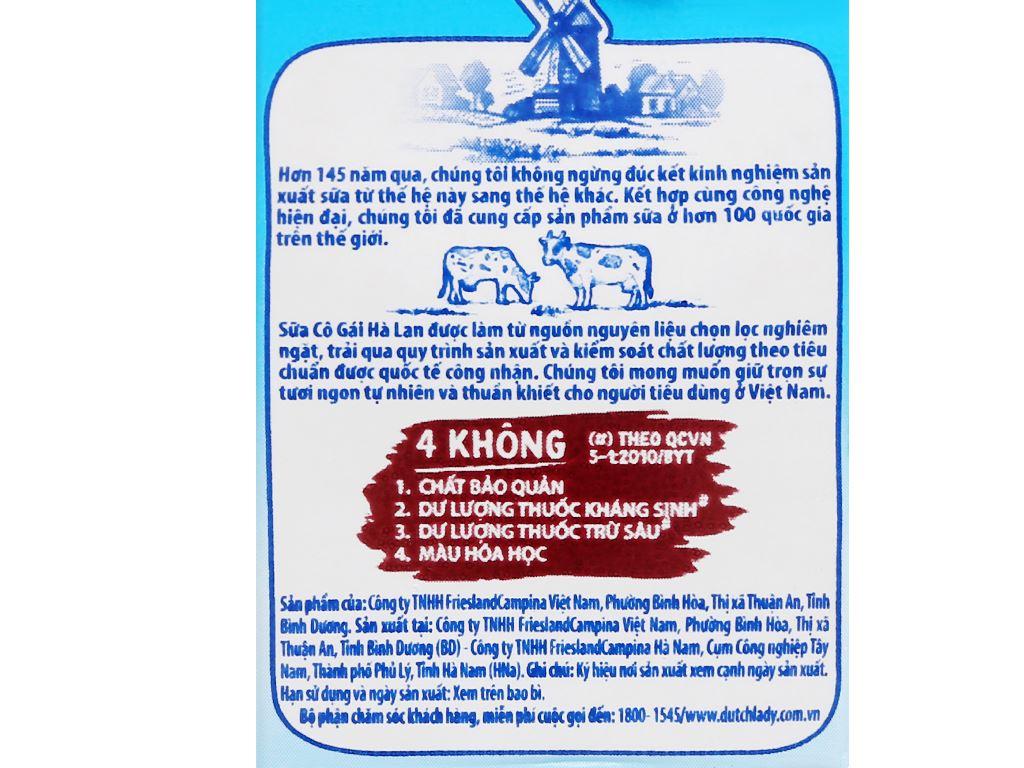 Thùng 48 hộp sữa tiệt trùng socola Dutch Lady 110ml 12