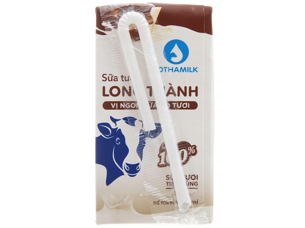Thùng 48 hộp sữa tiệt trùng Lothamilk sô cô la 110ml 3