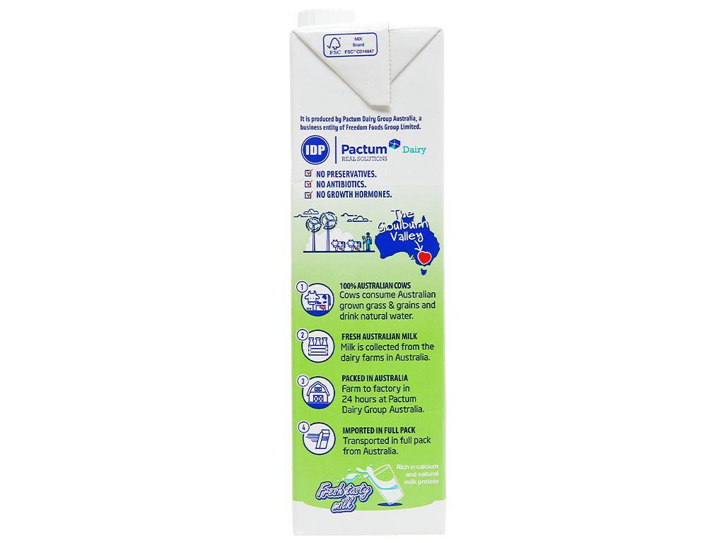 Thùng 12 hộp sữa tươi tiệt trùng ít đường LiF Kun 1 lít 11