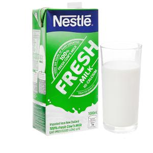 Sữa tươi tiệt trùng nguyên chất Nestlé Fresh Milk hộp 1 lít