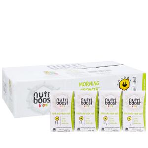 Thùng 48 hộp sữa tiệt trùng Nutriboost Kids Khởi Đầu Trọn Vẹn 110ml