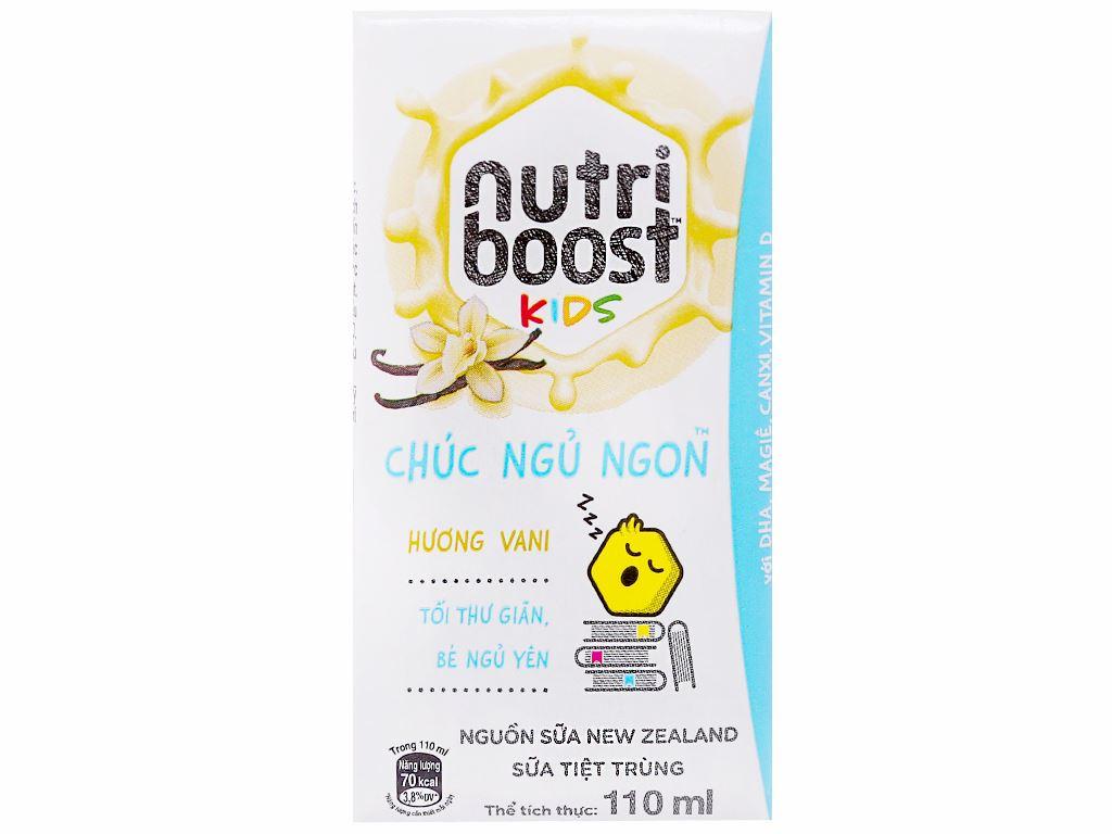 Thùng 48 hộp sữa tiệt trùng Nutriboost Kids Chúc Ngủ Ngon 110ml 2