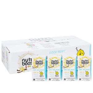 Thùng 48 hộp sữa tiệt trùng Nutriboost Kids Chúc Ngủ Ngon 110ml