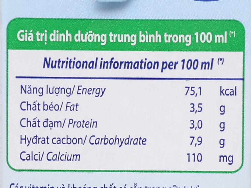 Thùng 12 hộp sữa tươi tiệt trùng có đường Vinamilk Nhập khẩu 100% 1 lít 8