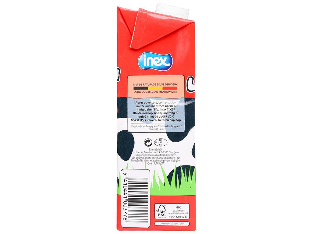 Sữa tươi nguyên kem không đường Inex hộp 1 lít 4