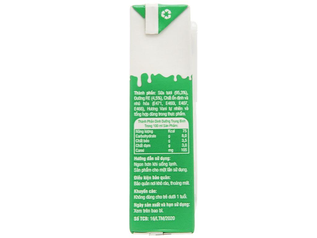 Lốc 4 hộp sữa tươi có đường Lomi 180ml 3