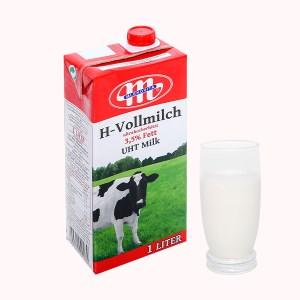 Sữa tươi tiệt trùng Mlekovita hộp 1 lít