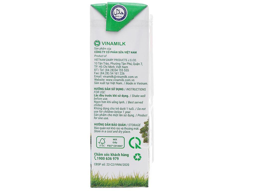 Lốc 4 hộp sữa tươi tiệt trùng có đường Vinamilk Green Farm 180ml 5