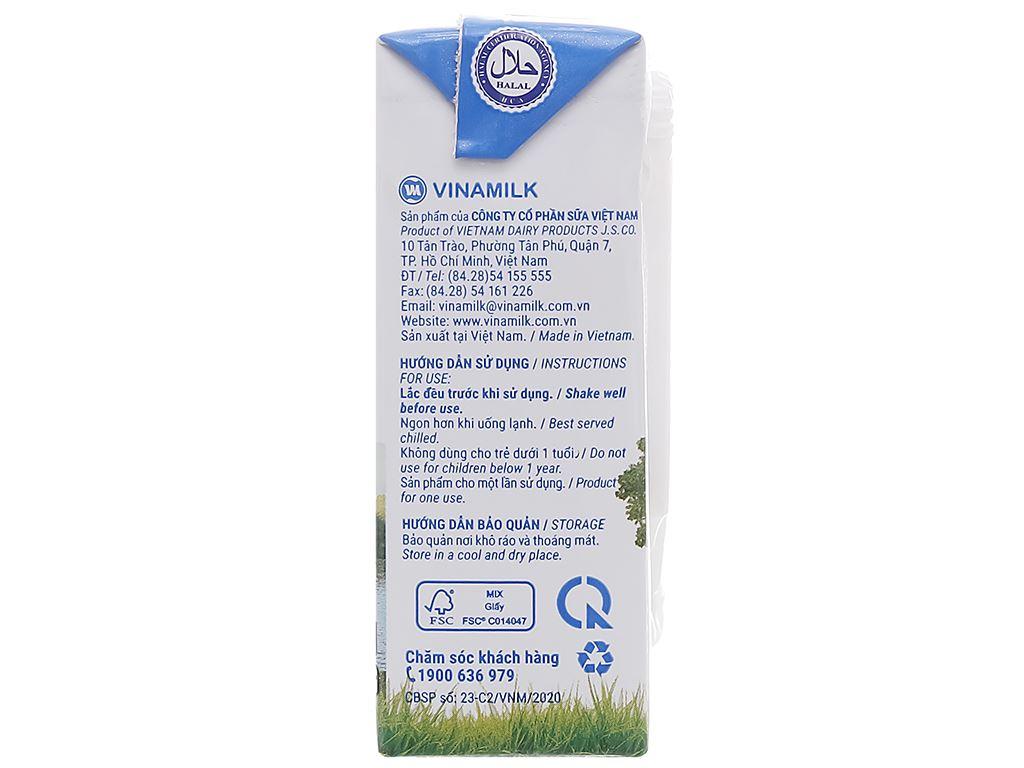 Thùng 48 hộp sữa tươi tiệt trùng ít đường Vinamilk Green Farm 110ml 4