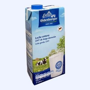 Sữa tươi tiệt trùng nguyên kem Oldenburger 3.5% béo 1 lít