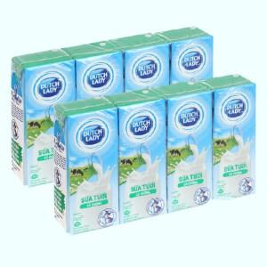 Combo 2 lốc sữa có đường Dutch Lady hộp 180ml