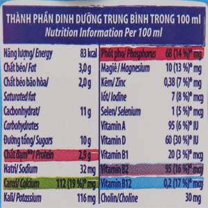 Sữa tiệt trùng Dutch Lady socola hộp 180ml 6