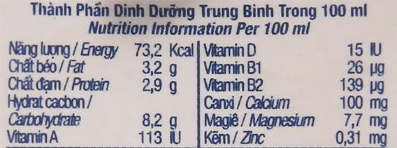Sữa tươi tiệt trùng TH true MILK hộp 110ml 6