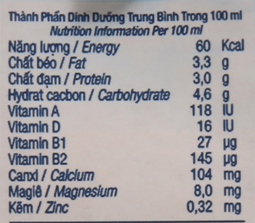 Sữa tươi tiệt trùng TH true MILK nguyên chất hộp 180ml 6