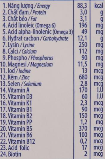 Sữa dinh dưỡng hương socola Vinamilk ADM Gold hộp 180ml 6