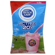 Sữa tiệt trùng Dutch Lady hương Dâu bịch 220ml