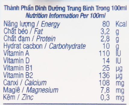 Sữa tươi tiệt trùng TH true MILK socola hộp 180ml 6