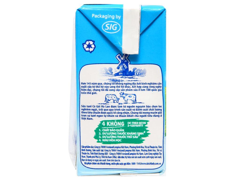 Lốc 4 hộp sữa tiệt trùng có đường Dutch Lady 110ml 3