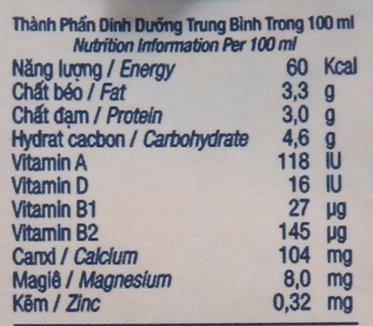 Lốc 4 hộp sữa tươi tiệt trùng nguyên chất không đường TH true MILK 180ml 6