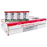 Thùng sữa tiệt trùng Vinamilk hương Dâu hộp 110ml (48 hộp)