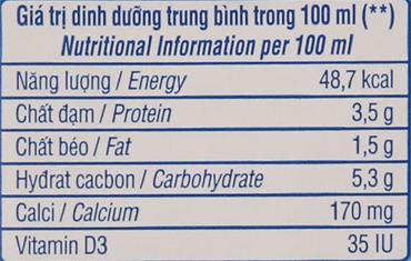 Thùng 12 hộp sữa Vinamilk Flex tăng 50% canxi không đường 1 lít 6