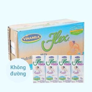 Thùng 48 hộp sữa dinh dưỡng Vinamilk Flex không lactoza 180ml