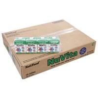 Thùng sữa tiệt trùng Nuvita Có đường hộp 110ml (48 hộp)