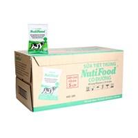 Sữa tiệt trùng NutiFood có đường bịch 220ml (Thùng 48 bịch)