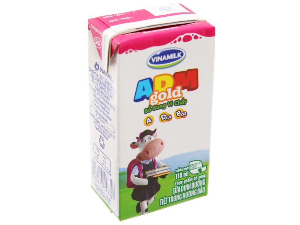 Sữa dinh dưỡng tiệt trùng Vinamilk ADM Gold hộp 110ml 2