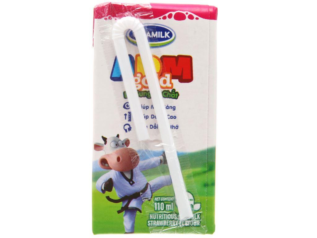 Sữa dinh dưỡng tiệt trùng Vinamilk ADM Gold hộp 110ml 4