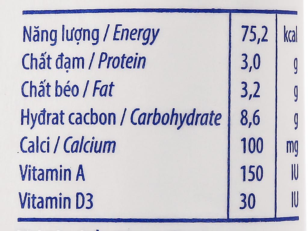 Thùng 48 bịch sữa dinh dưỡng có đường Vinamilk A&D3 220ml 4