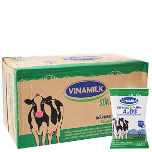 Thùng 48 bịch sữa dinh dưỡng Vinamilk A&D3 có đường 220ml