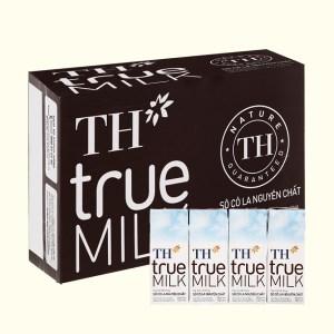 Thùng 48 hộp sữa tươi tiệt trùng socola TH true MILK 180ml