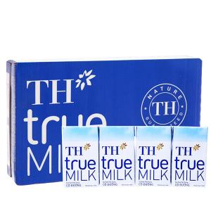 Thùng 48 hộp sữa tươi tiệt trùng có đường TH true MILK 110ml