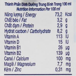 Thùng 48 hộp sữa tươi tiệt trùng có đường TH true MILK 180ml 6